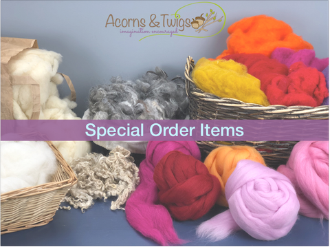 Special Order Items Catalogue - Acorns & Twigs