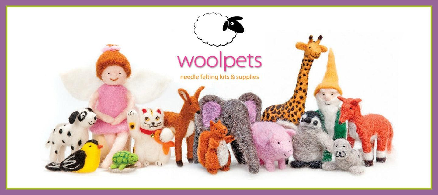 WoolPets Needle Felting Kits for Beginners and Intermediate Crafters