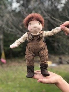 Acorns And Twigs Waldorf Doll Blush