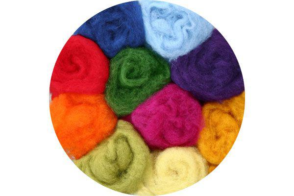 Batt Felting Wool from New Zealand