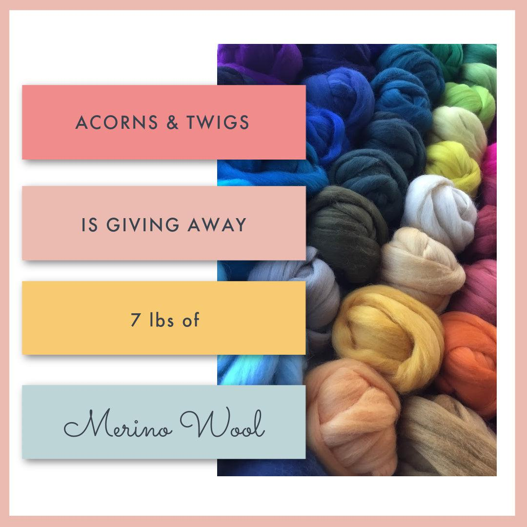 Enter to Win 7 pounds of Merino Wool