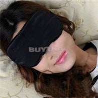 Hot Sale Travel Rest Sponge Eye MASK Black Sleeping Eye Mask Cover For Health Care To Shield The Light Eyeshade Relieve Fatigue
