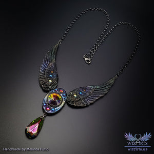 *Angel Aura* Magical Wearable Art Necklace - wizArts