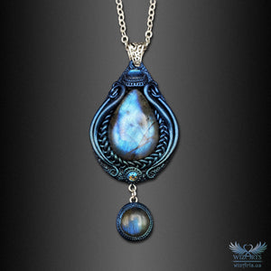 *Frozen Aurora* A Unique and Magical Art Necklace - wizArts
