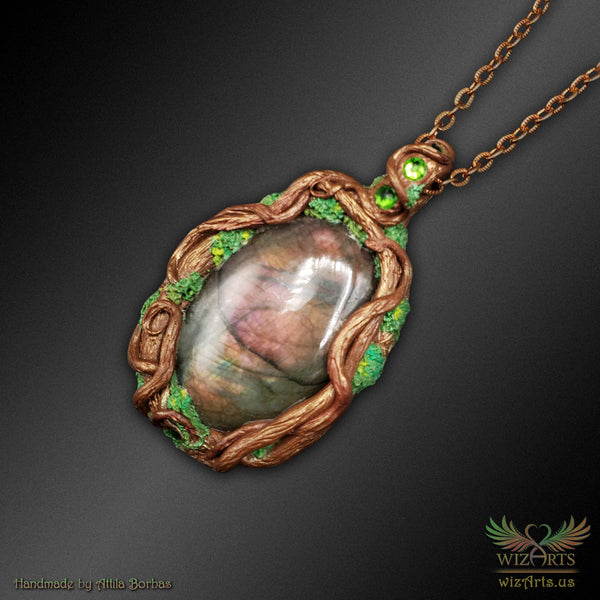 *Earth Spirit* Handmade, Magical Art Necklace - wizArts