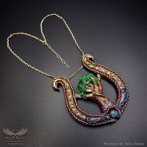 *Lyre* - A Unique and Magical Art Necklace