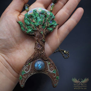 *Let Your Light Grow* - A Unique and Magical Art Necklace - wizArts