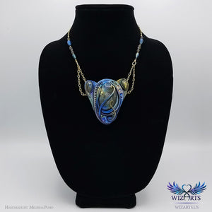 *Orion Nebula* Labradorite Necklace Unique Wearable Art