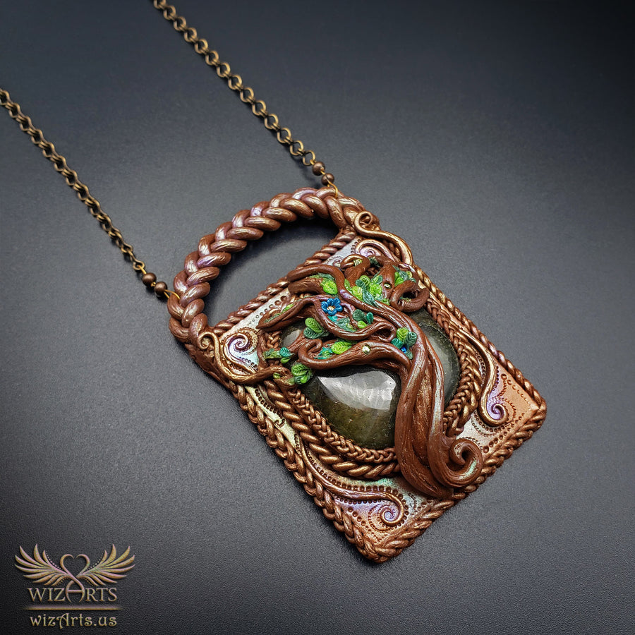 *Ancient Tree* - A Unique and Magical Art Necklace