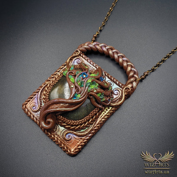 *Ancient Tree* - A Unique and Magical Art Necklace - wizArts