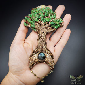 *Let Your Light Grow* - A Unique and Magical Art Necklace (V3) - wizArts