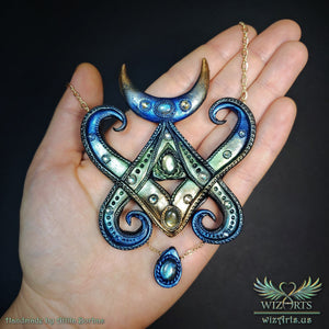 *Witch Magick* Handmade Statement Necklace - wizArts