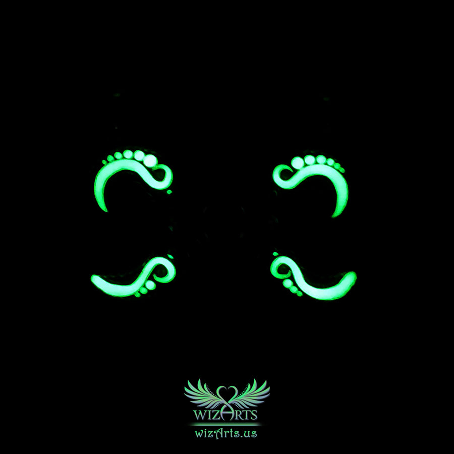 *Witches' Spell* Glow-in-the-Dark, Magical Art Necklace