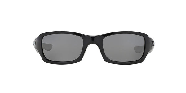 OAKLEY FIVE SQUARED POLARIZED POLISHED BLACK/BLACK IRIDIUM 0OO9238 923608