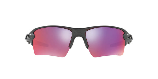 OAKLEY FLAK 0OO9188-0459 MATTE GREY SMOKE/PRIZM ROAD