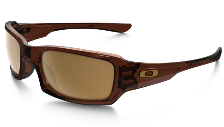 OAKLEY FIVES SQUARED POLISHED ROOTBEER/DARK BRONZE 0OO9238-807