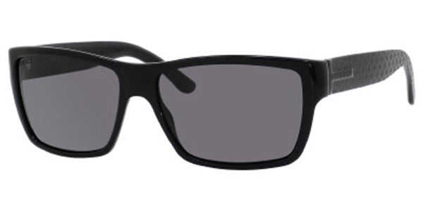 GUCCI MEN - Black / SMOKE POLARIZED GG1000/S-08073H-57