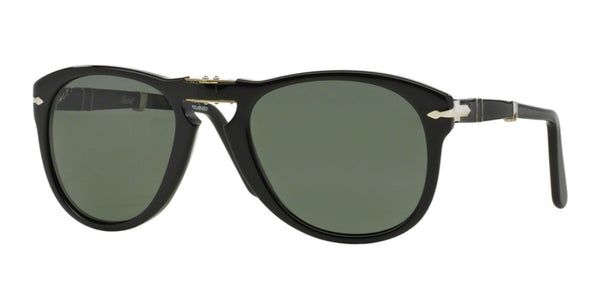 PERSOL FOLDING BLACK / POLARIZED GREY PO0714-9558-52