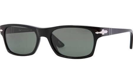 PERSOL BLACK/CRYSTAL GREY PO3037S-9531-54