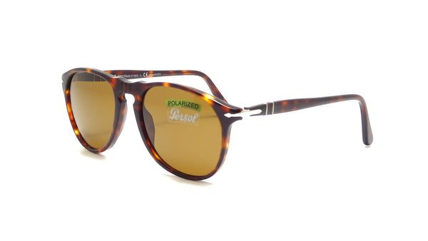 PERSOL HAVANA / POLAR BROWN PO9649-2457-55