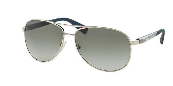PRADA AVIATOR - SILVER / GREY GRADIENT PS51OS-1BC3M1-62