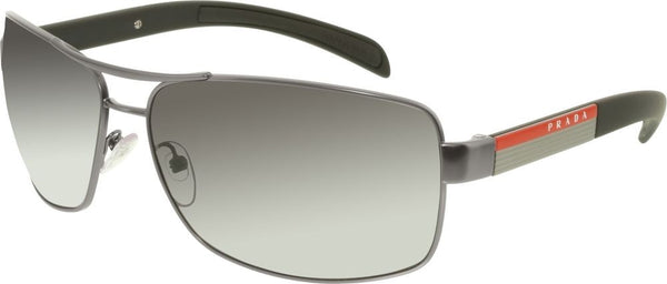 PRADA DEMI GUNMETAL / POLARIZED GREY GRADIENT PS54IS-7CQ5W1-65