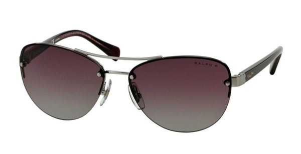 RALPH LAUREN GUNMETAL / PURPLE RA4113-306762-56