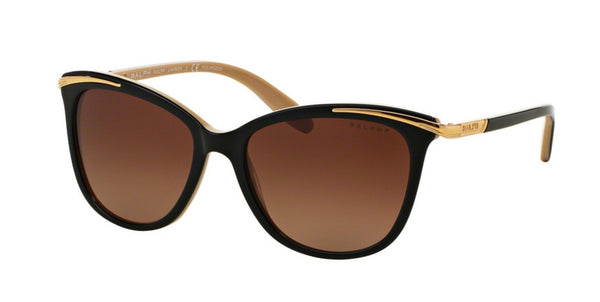 RALPH LAUREN BLACK NUDE / POLARIZED BROWN GRADIENT RA5203-1090T5-54