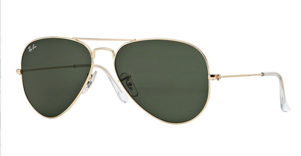 RAY-BAN AVIATOR GOLD/GREEN RB3025-L0205