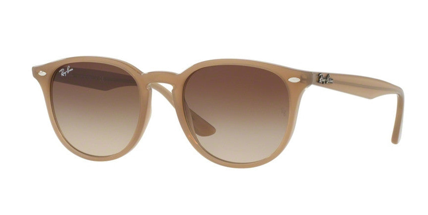 RAY-BAN SHINY OPAL BEIGE/BROWN GRADIENT RB4259-616613