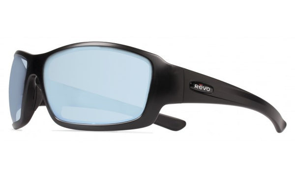 REVO BEARING - MATTE BLACK / POLAR BLUE WATER LENS RE4057-01-BL