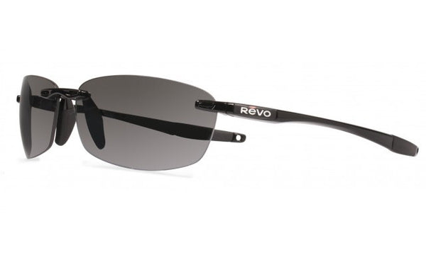 REVO DESCEND E - BLACK / GREY  GRAPHITE LENS RE4060-01-GY