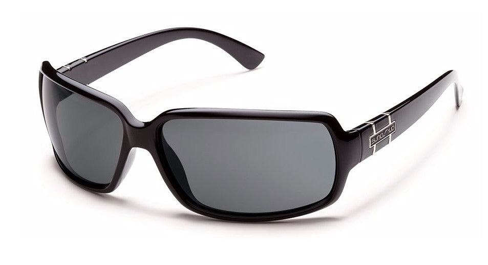 SUNCLOUD POPTOWN - BLACK / POLARIZED GREY S-PPPPGYBK