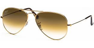 RAY-BAN AVIATOR GOLD/CRYSTAL BROWN GRADIENT RB3025 001/51