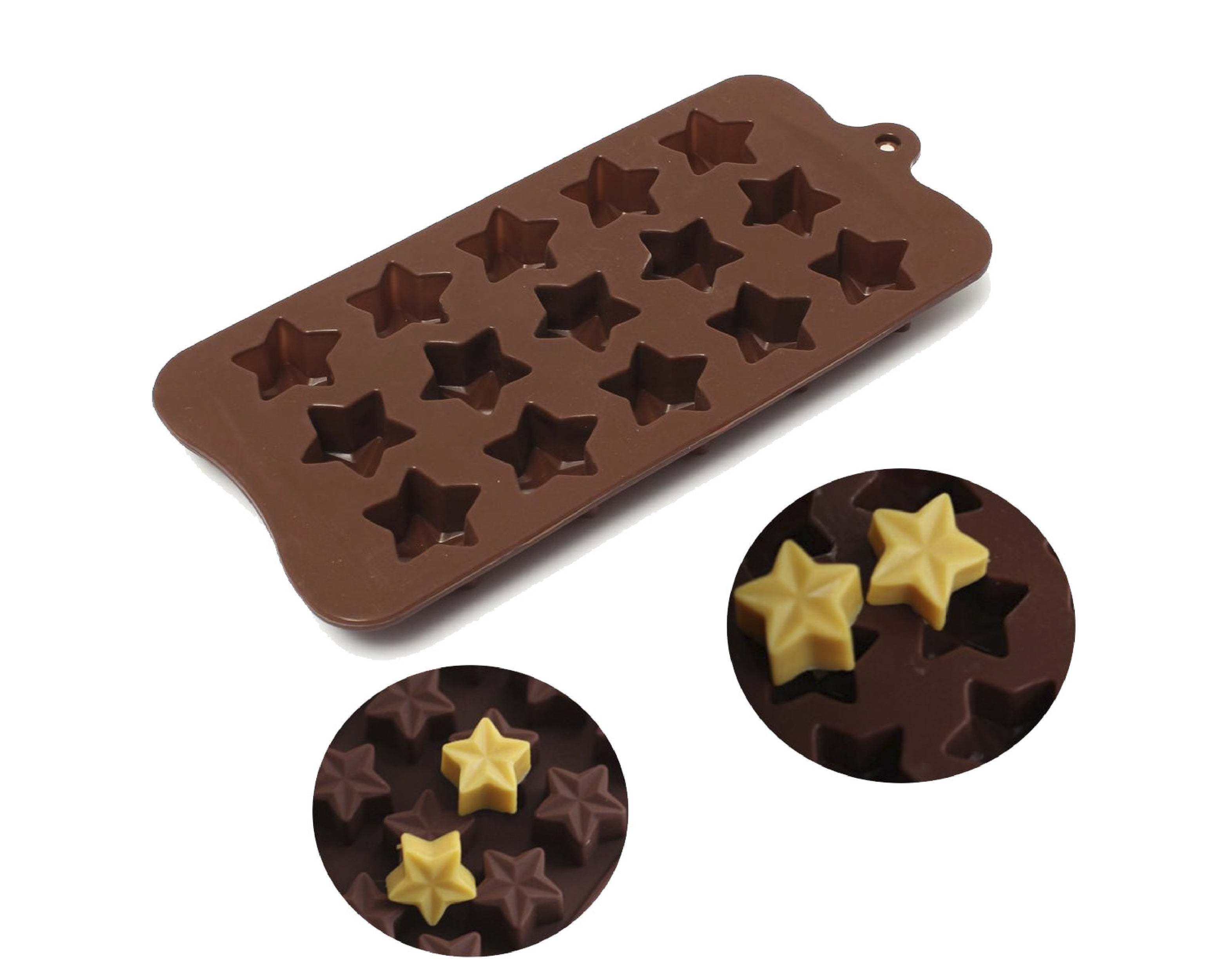 Silicone Star Shaped Mold