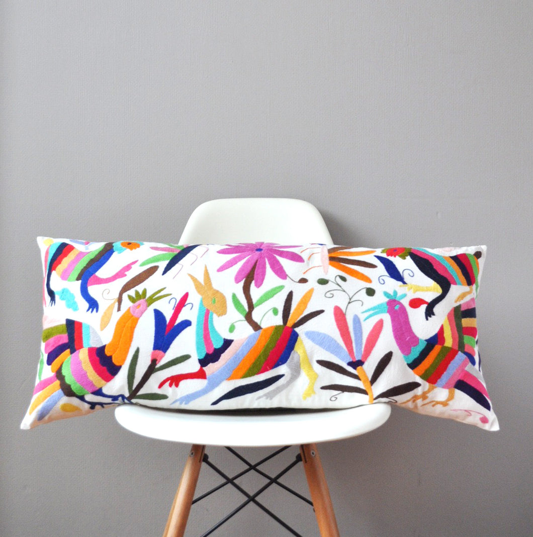Otomi Lumbar Pillow Cover