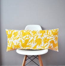 Yellow Otomi Lumbar Pillow Cover