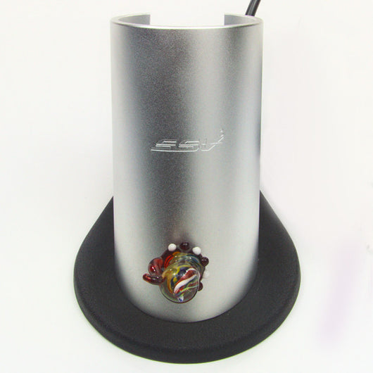 Silver Surfer Vaporizer Ground Glass