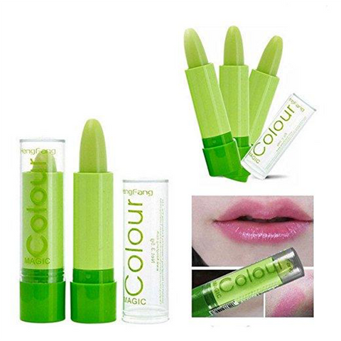 Green Color Changing Lip Stick