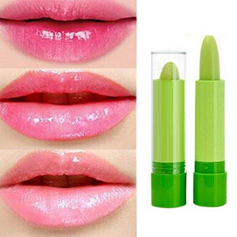 Image of Green Color Changing Lip Stick