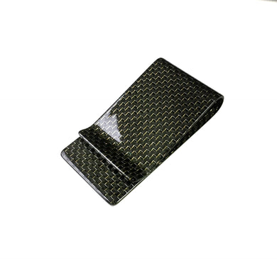 'D'Oro Luminoso' Gold Carbon Fiber Money Clip