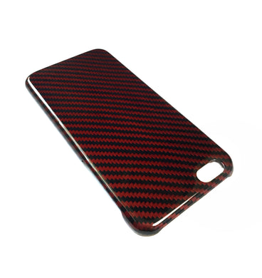 Rosso Ultraleggera Carbon Fiber iPhone Case For iPhone 7 / iPhone 8 / iPhone 7 Plus / iPhone 8 Plus