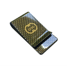 """D'Oro"" Gold Label Carbon Fiber Money Clip"