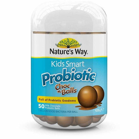 Nature's Way Kids Smart Probiotic Chocolate Balls 50s