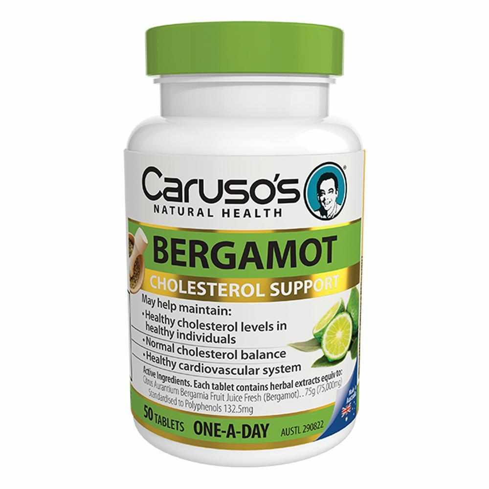 30a35fc76ef Caruso s Bergamot One A Day 50 Tablets - vitaminsonly