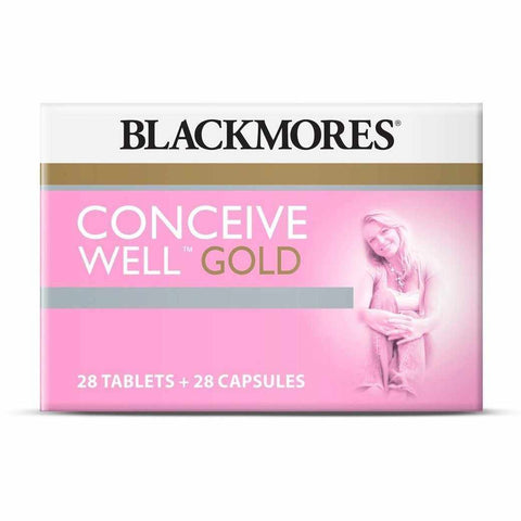 Blackmores Conceive Well™ Gold 28 Tablets + 28 Capsules
