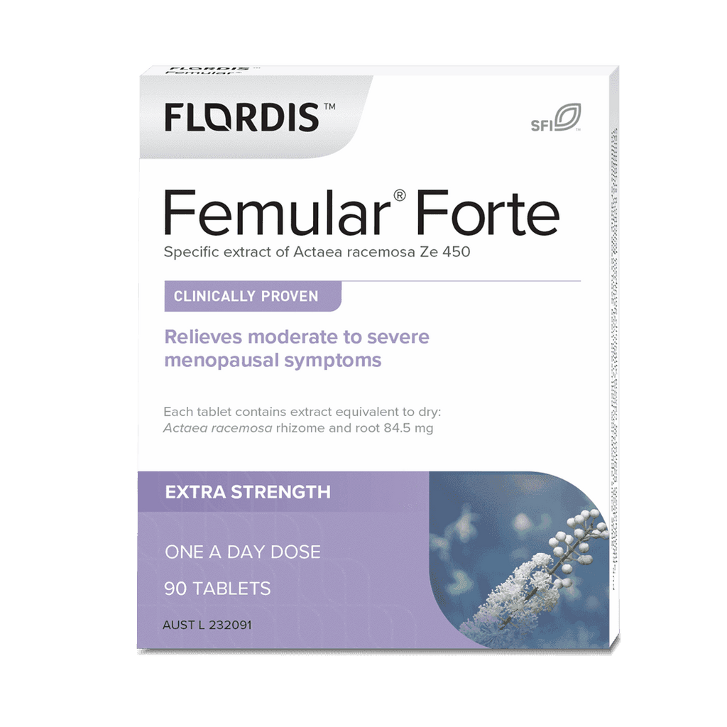 Flordis Femular Forte For Menopause 90 Tablets