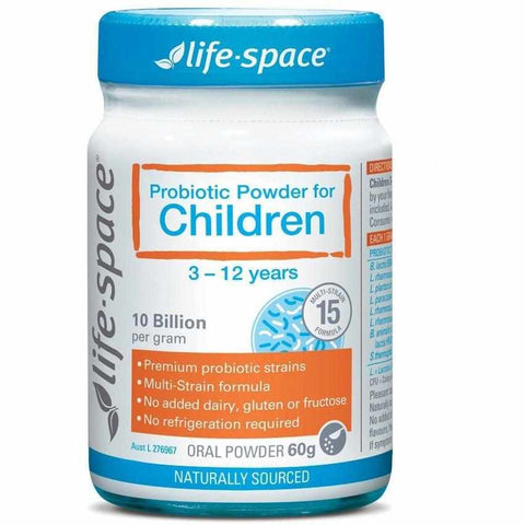 Life-Space Probiotic Powder For Children New Formula 60g