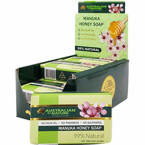 Australian by Nature Manuka Honey Soap 100g (9 pack)