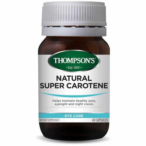 Thompson's Natural Super Carotene 60 Capsules